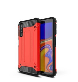 Lunso Lunso - Armor Guard hoes - Samsung Galaxy A7 2018 - rood