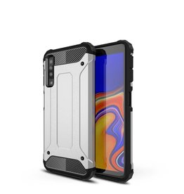 Lunso Lunso - Armor Guard hoes - Samsung Galaxy A7 2018 - zilver