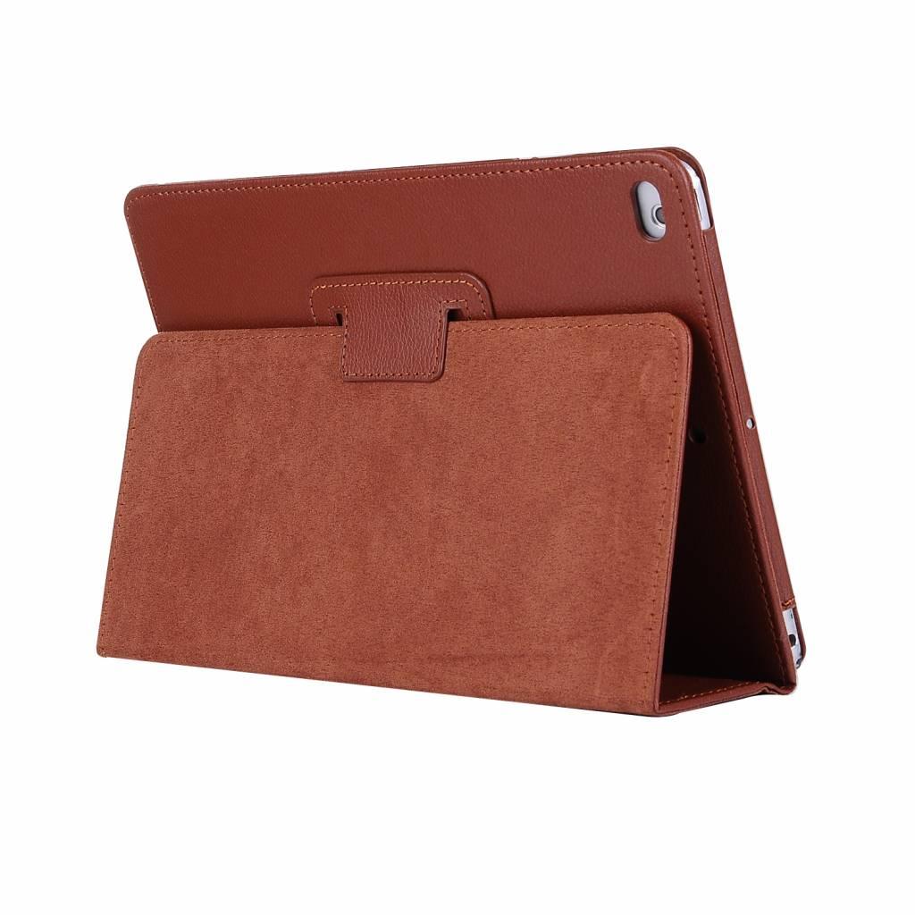 Stand flip sleepcover hoes - iPad 2 / 3 / 4 - bruin