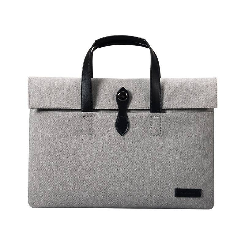 "Cartinoe canvas fashion laptoptas grijs voor 13"" laptop"