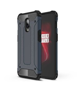 Lunso Lunso - Armor Guard hoes - Oneplus 6T - blauw
