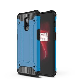 Lunso Lunso - Armor Guard hoes - Oneplus 6T - lichtblauw