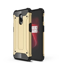 Lunso Lunso - Armor Guard hoes - Oneplus 6T - goud