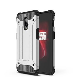 Lunso Lunso - Armor Guard hoes - Oneplus 6T - zilver