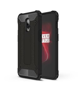 Lunso Lunso - Armor Guard hoes - Oneplus 6T - zwart