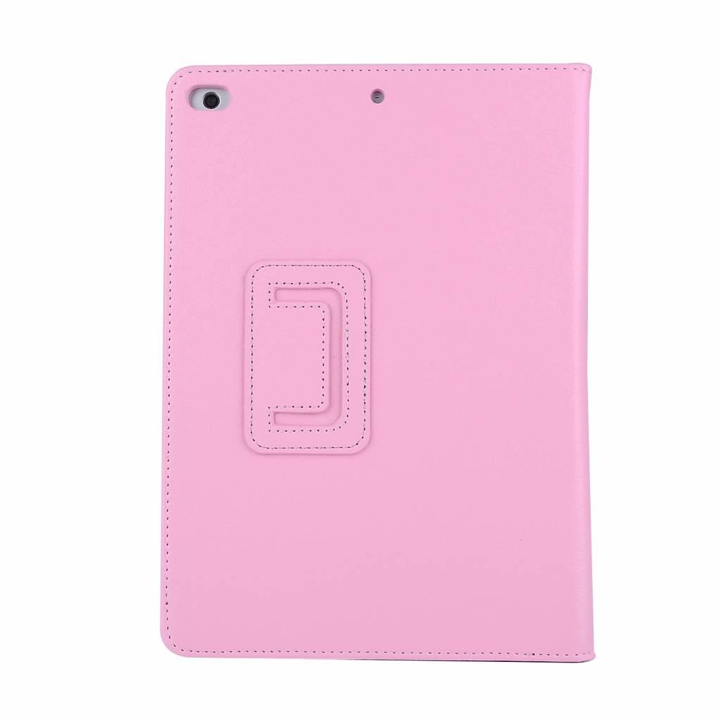Lunso Stand flip sleepcover hoes lichtroze voor de iPad 9.7 (2017/2018), iPad Pro 9.7, iPad Air en iPad Air 2