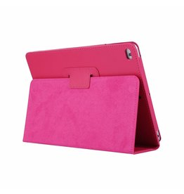 Lunso Stand flip sleepcover hoes - iPad 9.7 (2017/2018) / Pro 9.7 / Air / Air 2 - roze