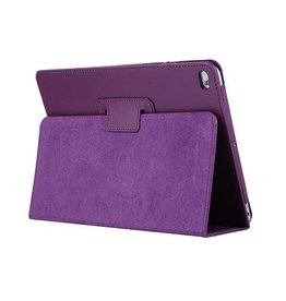 Lunso Stand flip sleepcover hoes - iPad 9.7 (2017/2018) / Pro 9.7 / Air / Air 2 - paars
