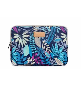 Lisen - sleeve hoes 15 inch - Tropical blauw