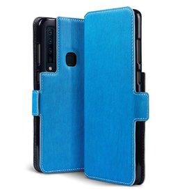 Qubits Qubits - slim wallet hoes - Samsung Galaxy A9 2018 - lichtblauw