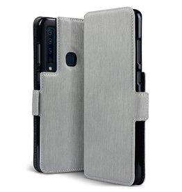 Qubits Qubits - slim wallet hoes - Samsung Galaxy A9 2018 - grijs