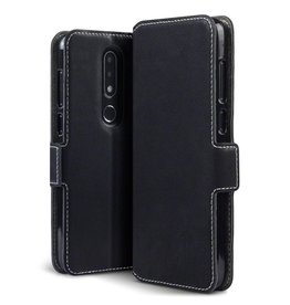 Qubits Qubits - slim wallet hoes - Nokia 6.1 Plus - zwart