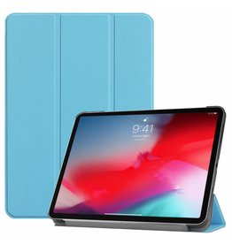 3-Vouw sleepcover hoes - iPad Pro 11 inch (2018-2019) - lichtblauw