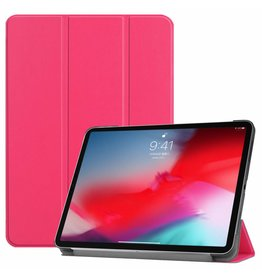 3-Vouw sleepcover hoes - iPad Pro 11 inch - roze