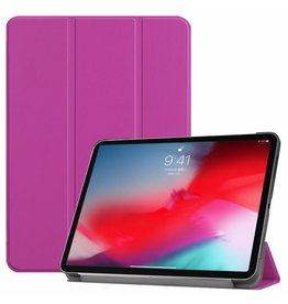 3-Vouw sleepcover hoes - iPad Pro 11 inch (2018-2019) - paars