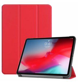3-Vouw sleepcover hoes - iPad Pro 11 inch - rood