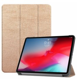 3-Vouw sleepcover hoes - iPad Pro 11 inch - goud