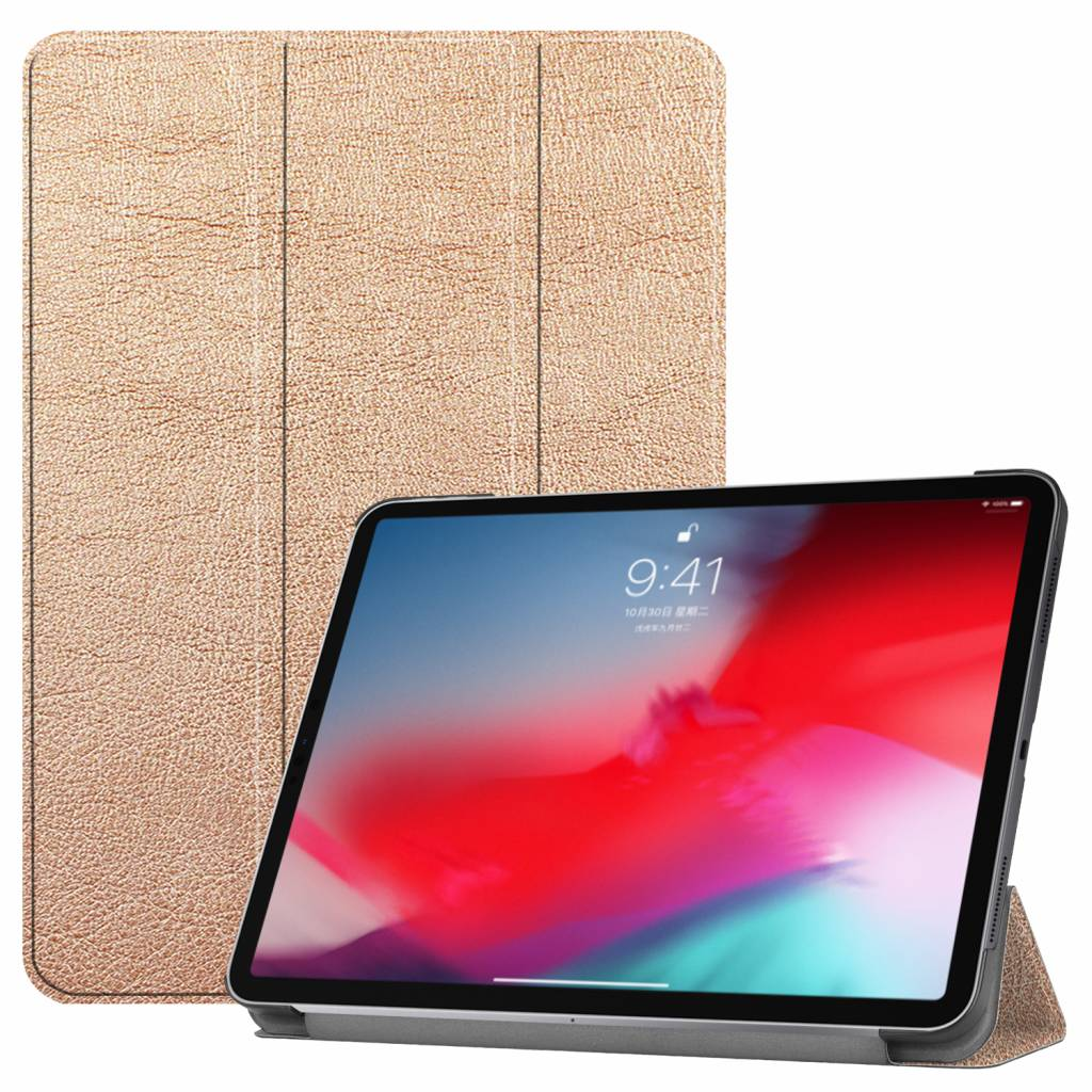 3-Vouw sleepcover hoes - iPad Pro 11 inch (2018-2019) - goud