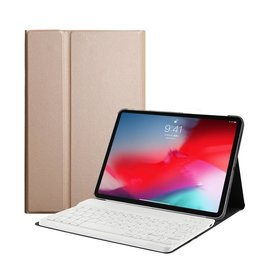 Lunso Lunso - afneembare Keyboard hoes - iPad Pro 11 inch - goud