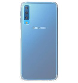 Softcase hoes - Samsung Galaxy A7 2018 - transparant