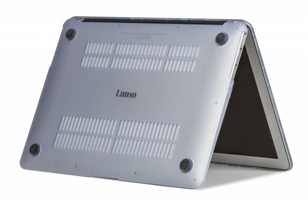 Lunso Lunso Marble Cosette cover hoes voor de MacBook 12 inch
