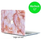 Lunso Lunso Marble Finley cover hoes voor de MacBook 12 inch