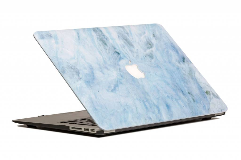 Lunso Lunso Marble Carib cover hoes voor de MacBook 12 inch