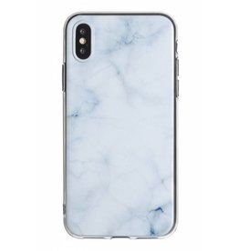 Lunso Lunso - backcover hoes - iPhone X / XS - Marble Cleo