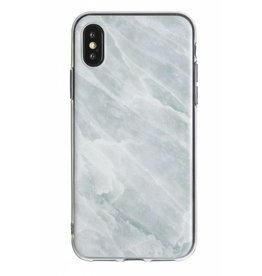 Lunso Lunso - backcover hoes - iPhone X / XS - Marble Opal