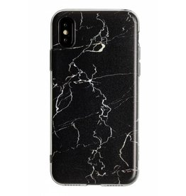 Lunso Lunso - backcover hoes - iPhone XR - Marble Cosmos