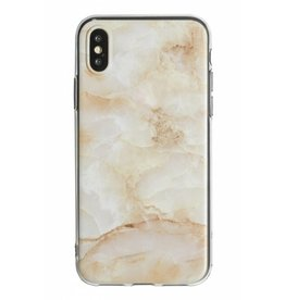Lunso Lunso - backcover hoes - iPhone XS Max - Marble Deliah