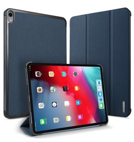 Dux Ducis Dux Ducis - Domo Serie folio sleepcover hoes - iPad Pro 12.9 inch (2018) - Blauw