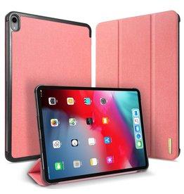Dux Ducis Dux Ducis - Domo Serie folio sleepcover hoes - iPad Pro 12.9 inch (2018) - Roze