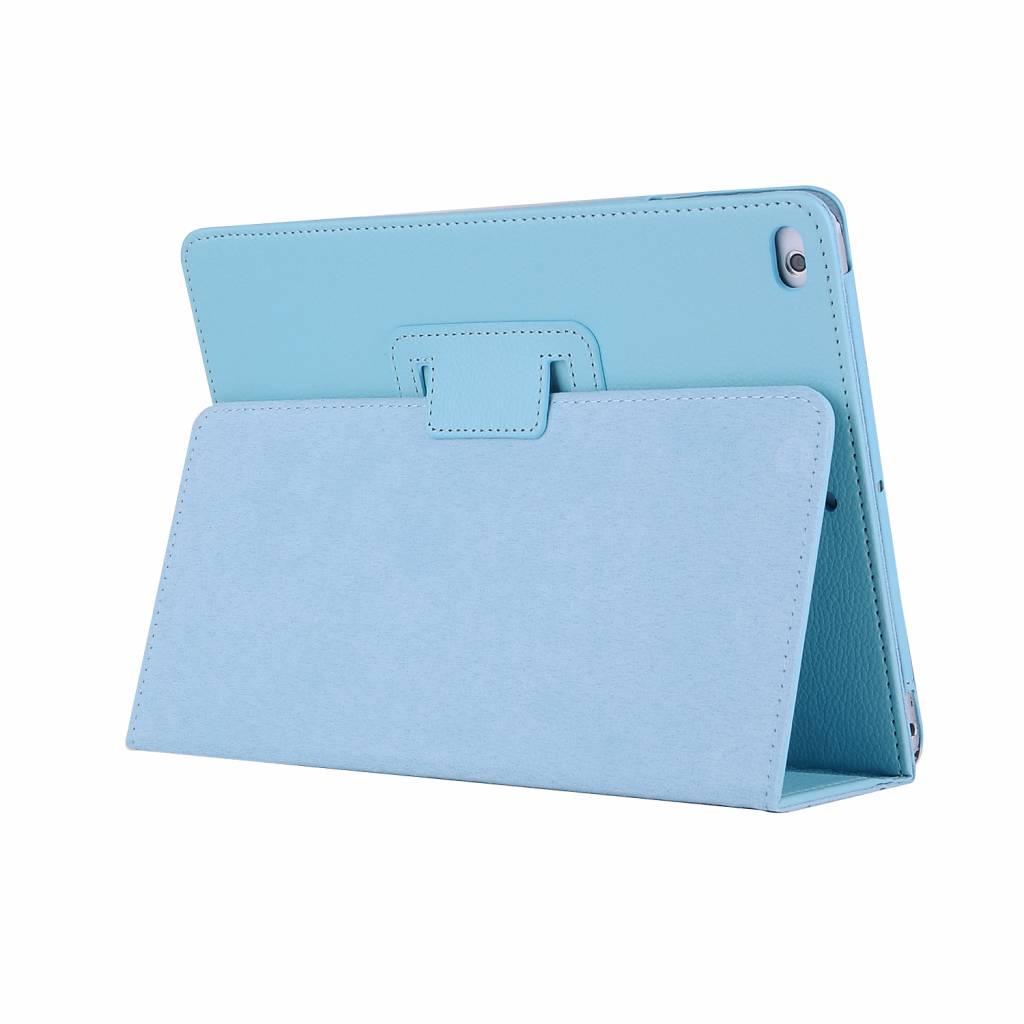 Stand flip sleepcover hoes - iPad 2 / 3 / 4 - lichtblauw