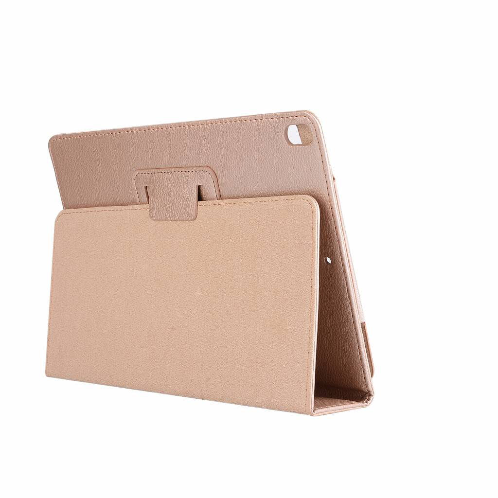 Stand flip sleepcover hoes - iPad Pro 10.5 inch / Air (2019) 10.5 inch - goud