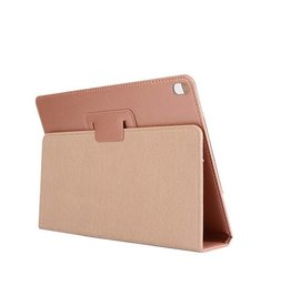 Lunso Stand flip sleepcover hoes - iPad Pro 10.5 inch / Air (2019) 10.5 inch - roze/goud