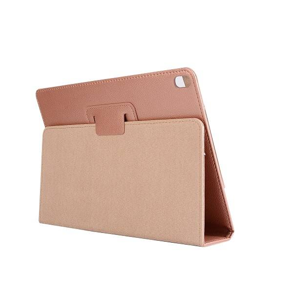 Stand flip sleepcover hoes - iPad Pro 10.5 inch / Air (2019) 10.5 inch - roze/goud