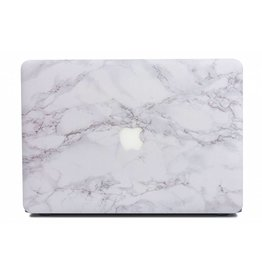 Lunso Lunso - cover hoes - MacBook Air 13 inch (2018) - Marble Cosette