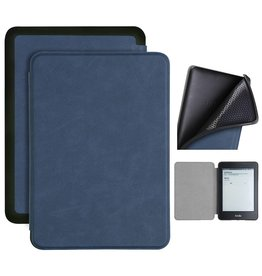 Lunso Lunso - sleepcover flip hoes - Kindle Paperwhite 4 - Blauw