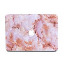 Lunso Lunso - cover hoes - MacBook Air 13 inch (2018-2019) - Marble Finley