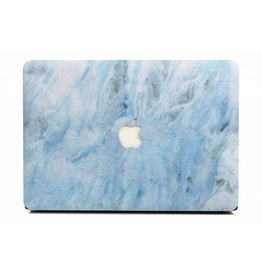 Lunso Lunso - cover hoes - MacBook Air 13 inch (2018-2019) - Marble Carib