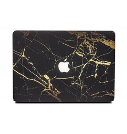 Lunso Lunso - cover hoes - MacBook Air 13 inch (2018-2019) - Marble Nova