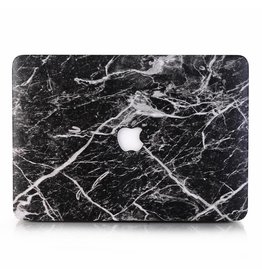 Lunso Lunso - cover hoes - MacBook Air 13 inch (2018-2019) - Marble Cosmos