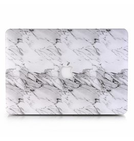 Lunso Lunso - cover hoes - MacBook Air 13 inch (2018-2019) - Marble Etta