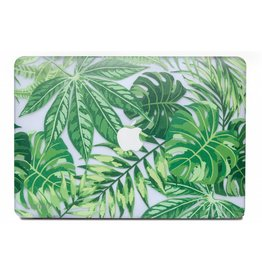 Lunso Lunso - cover hoes - MacBook Air 13 inch (2018-2019) - Tropical Green