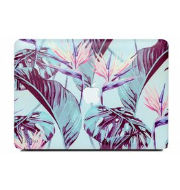 Lunso Lunso - cover hoes - MacBook Air 13 inch (2018-2019) - Strelitzia