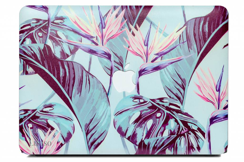 Lunso Lunso Strelitzia cover hoes voor de MacBook Air 13 inch (A1932/A1989)