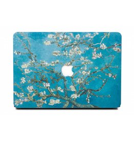 Lunso Lunso - cover hoes - MacBook Air 13 inch (2018-2019) - Van Gogh amandelboom