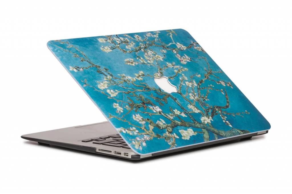 Lunso Lunso Van Gogh amandelboom cover hoes voor de MacBook Air 13 inch (A1932/A1989)