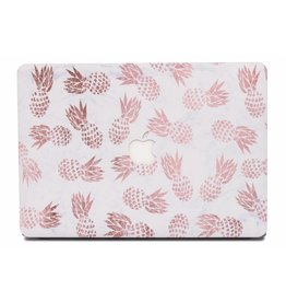 Lunso Lunso - cover hoes - MacBook Air 13 inch (2018-2020) - Fruity Marble